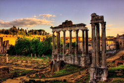 دانلود پاورپوینت تاریخ و تمدن معماری روم باستان